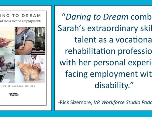Daring to Dream: Essential tools to find employment – Employment Workbook Preview (Chapter One)-FREE